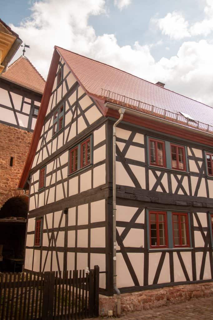 Wehrmannhaus von der Seite